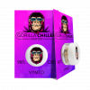 Sativaworx Gorilla Chiller Vymto flavour infused CBD shatter is a berry blitz explosion of flavour, enjoy your fix with this premium grade extract.